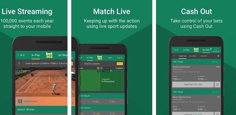 Bet365 apps