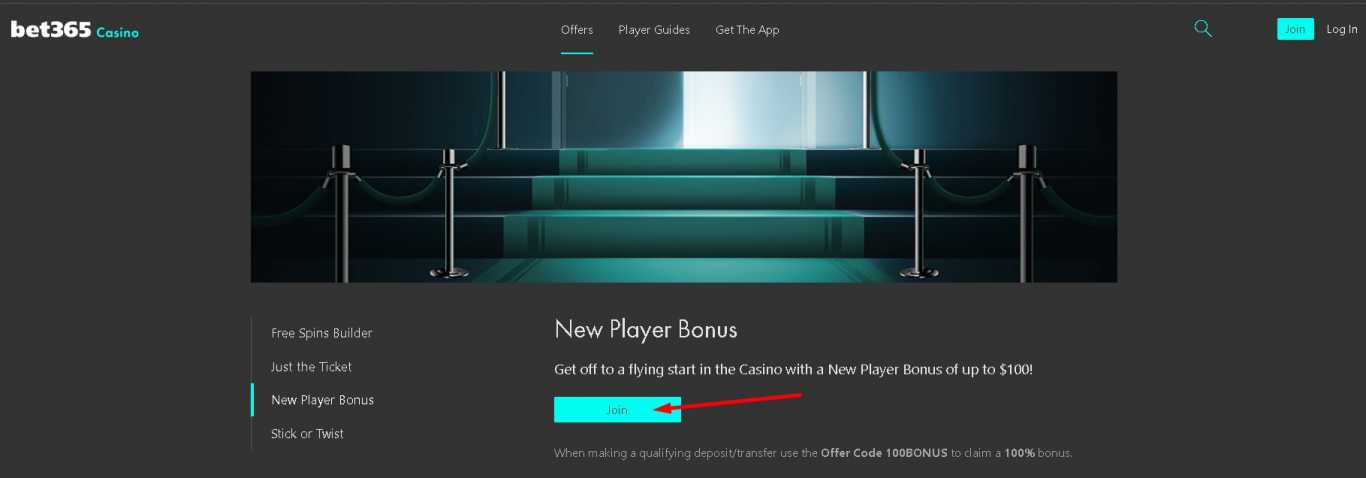 Bet365 new players bonus casino