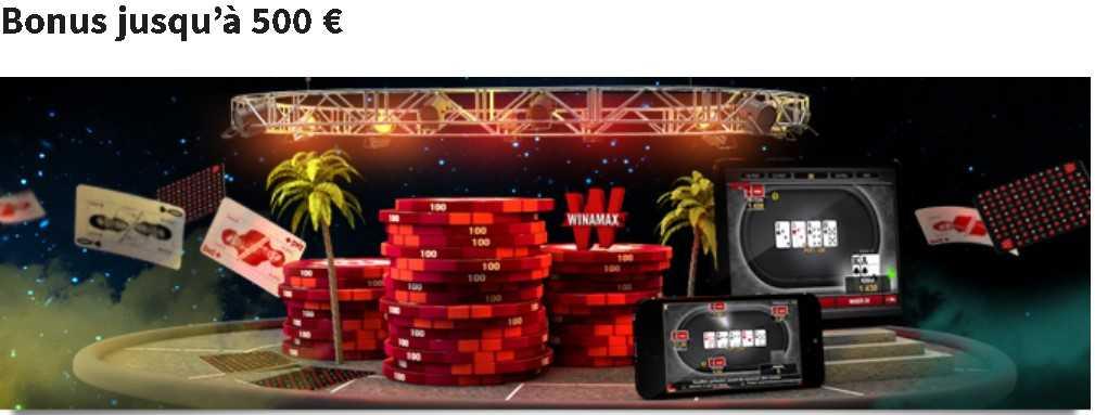 Winamax poker bonus