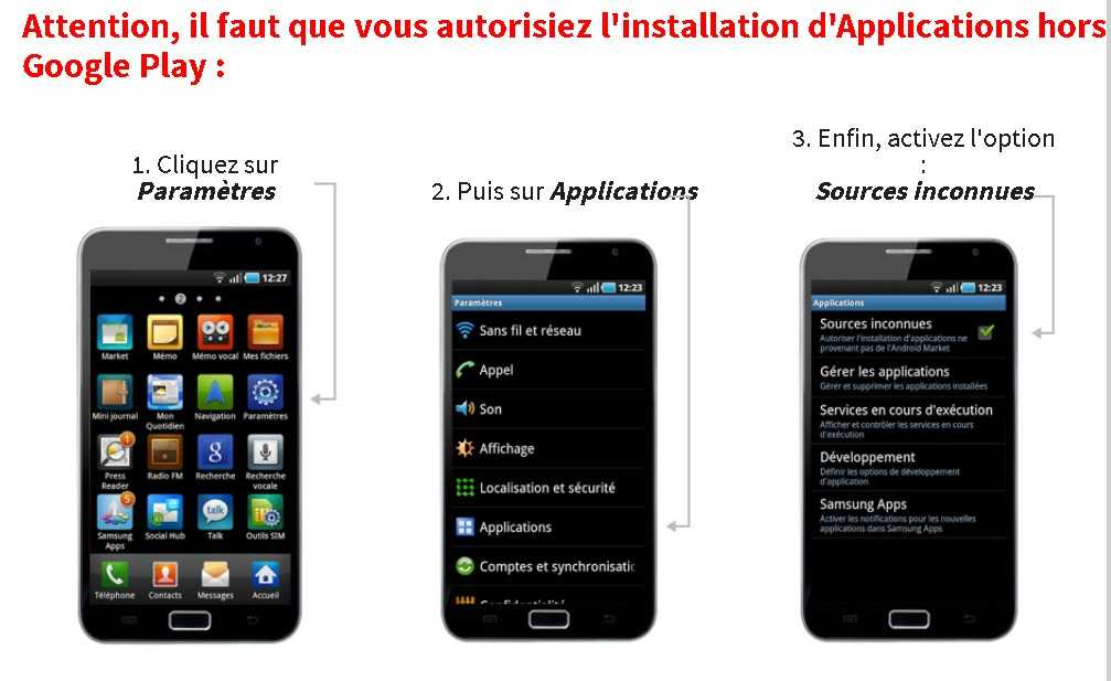 Winamax pour Android