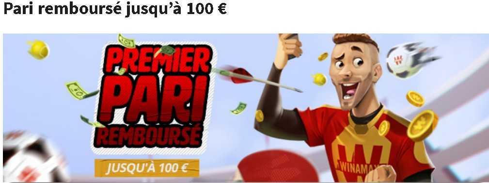 Winamax premier bonus